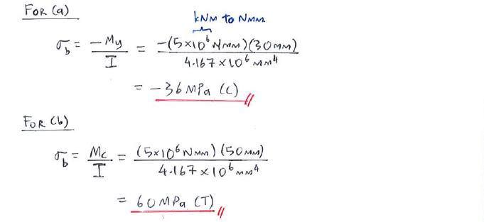 example c4 2 flexure formula solid mechanics i