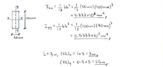Question 2 | c5. 1 euler's buckling formula | solid mechanics ii.