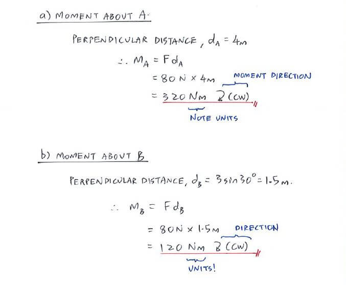 Example 1 C1 2 Moment And Couple Statics